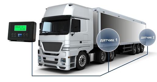 Датчик нагрузки на ось грузового автомобиля своими руками